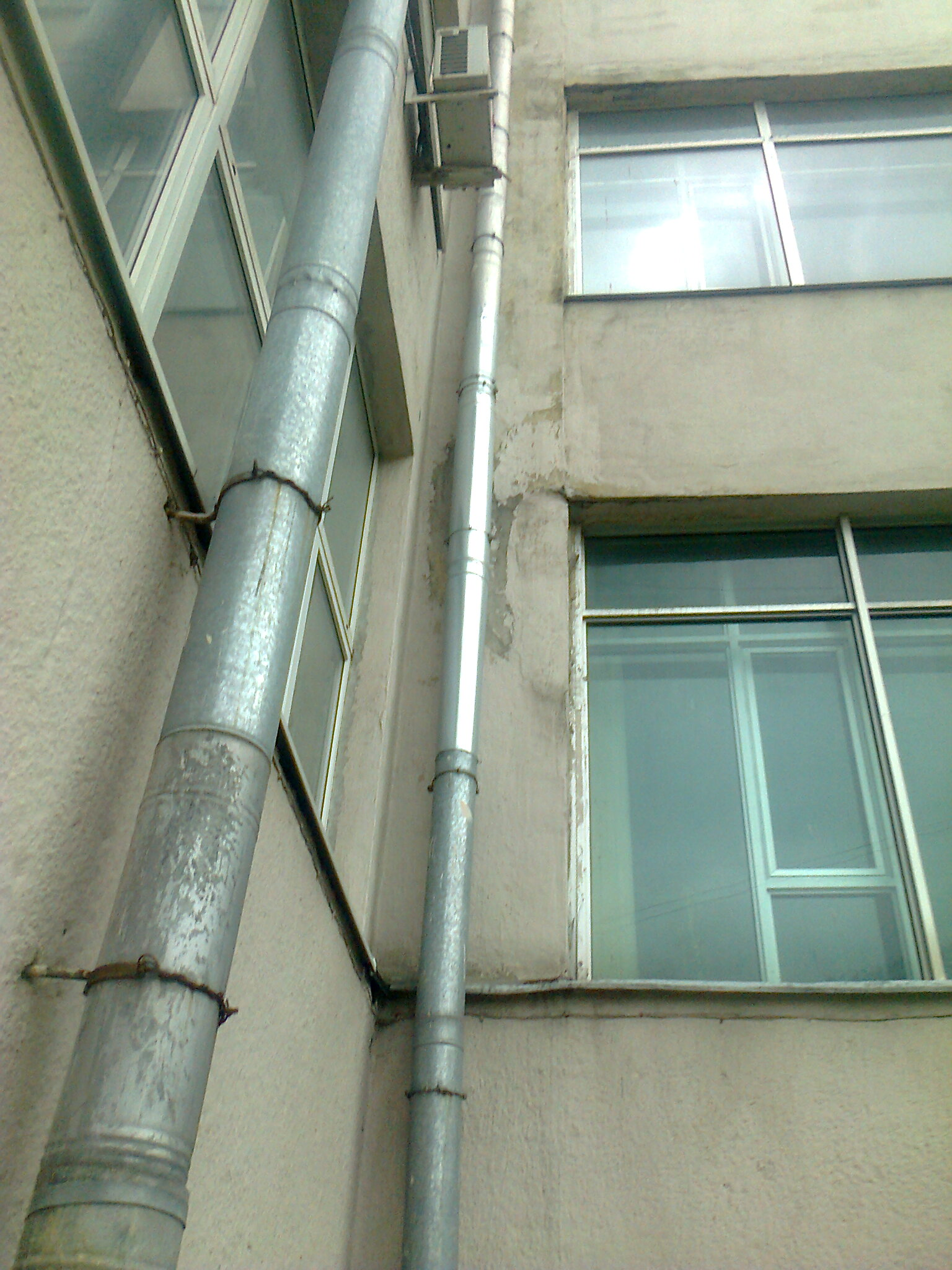 Водосточные трубы своими руками фото