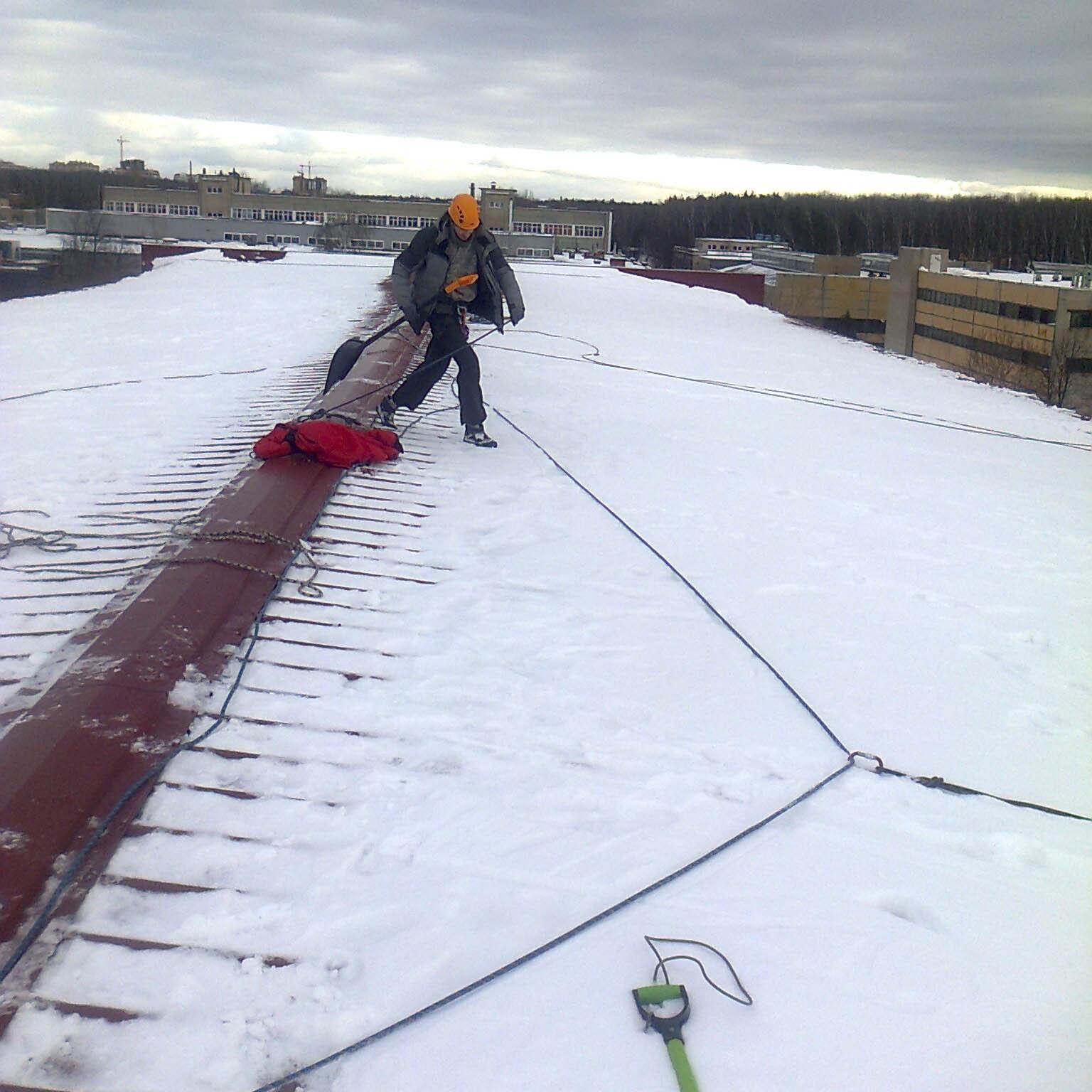 Оборудование для уборки снега с крыши