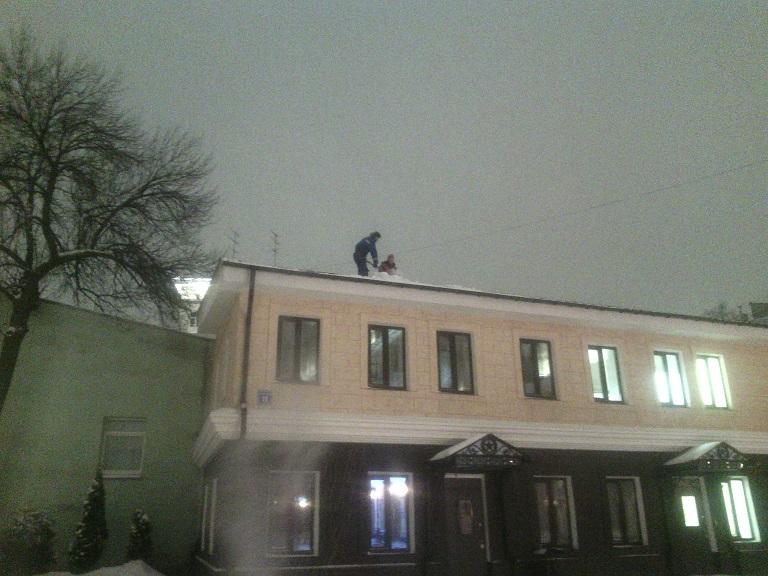 Инструкция по охране труда при работе по очистке снега с крыш